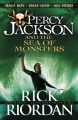 Couverture Percy Jackson, tome 2 : La Mer des monstres Editions Puffin Books 2013