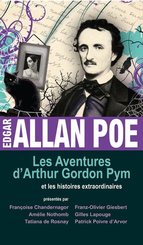 Couverture Les aventures d'Arthur Gordon Pym et les histoires extraordinaires