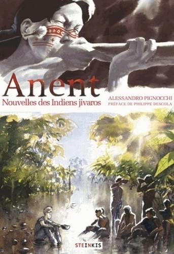 Couverture Anent : Nouvelles des indiens Jivaros