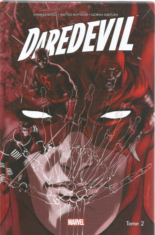 Couverture Daredevil (All-New All-Different), tome 2 : Bluffeur en Vue