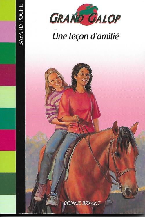 Couverture Grand Galop, tome 29 : Une leçon d'amitié