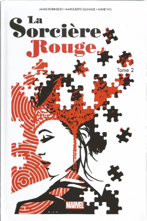Couverture La sorcière Rouge, tome 2 : Le Tour du Monde en Magie