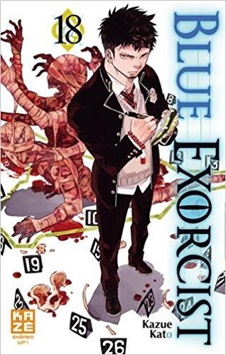 Couverture Blue Exorcist, tome 18