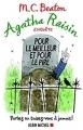 Couverture Agatha Raisin enquête, tome 05 : Pour le meilleur et pour le pire Editions Albin Michel 2017
