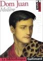 Couverture Dom Juan Editions Gallimard  (La bibliothèque) 2002