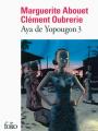 Couverture Aya de Yopougon, tome 3 Editions Folio  2014