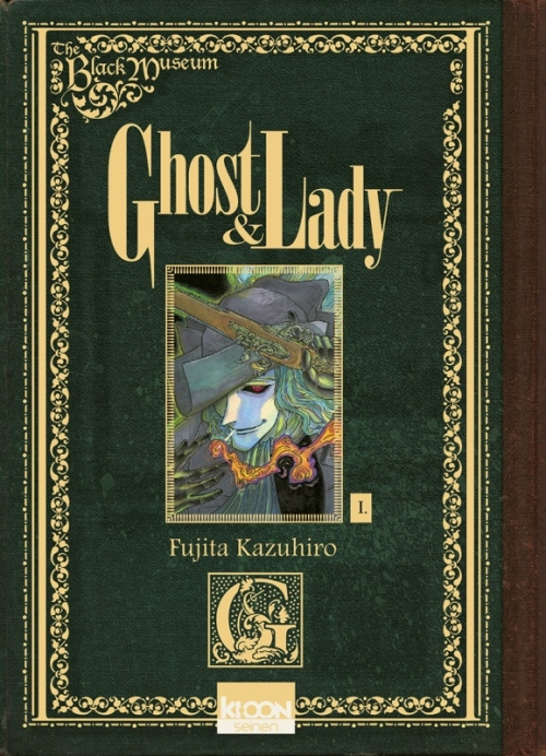 Couverture Ghost & Lady, tome 1