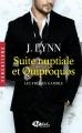 Couverture Les frères Gamble, tome 1 : Suite nuptiale et quiproquos Editions Milady (Romance - Sensations) 2017