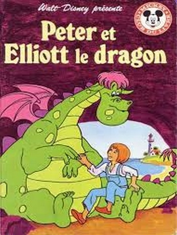 Couverture Peter et Elliott le dragon