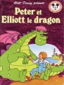 Couverture Peter et Elliott le dragon Editions Hachette (Mickey - Club du livre) 1988