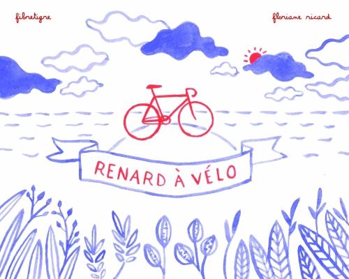 Couverture Renard à Vélo
