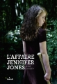 Couverture L'affaire Jennifer Jones Editions Milan 2017