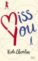 Couverture Miss you Editions NiL 2017