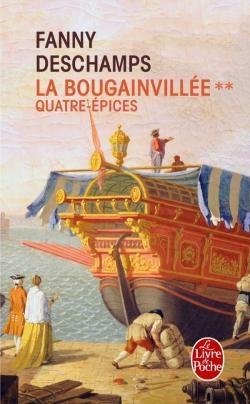 Couverture La Bougainvillée, tome 2 : Quatre-épices