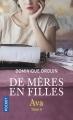 Couverture De mères en filles, tome 4 : Ava Editions Pocket 2017