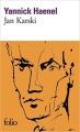 Couverture Jan Karski Editions Folio  2011