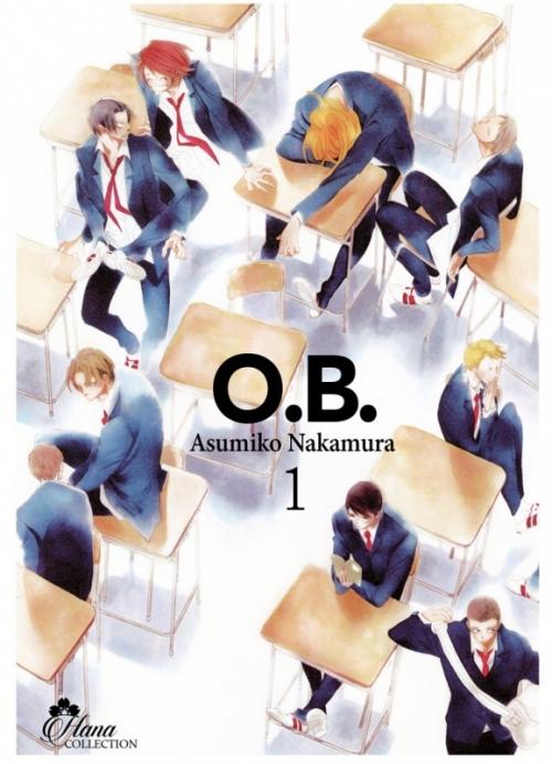 Couverture O.B., tome 1