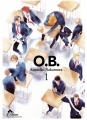 Couverture O.B., tome 1 Editions IDP (Hana) 2017
