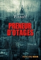 Couverture Preneur d'otages Editions Mercure de France 2017