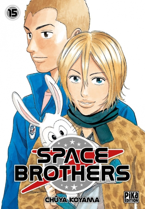 Couverture Space Brothers, tome 15