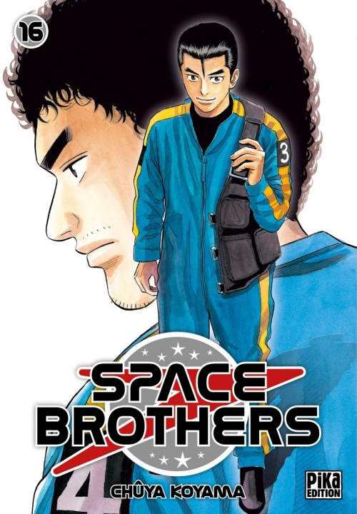 Couverture Space Brothers, tome 16