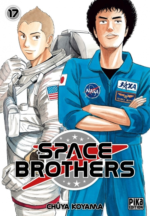 Couverture Space Brothers, tome 17