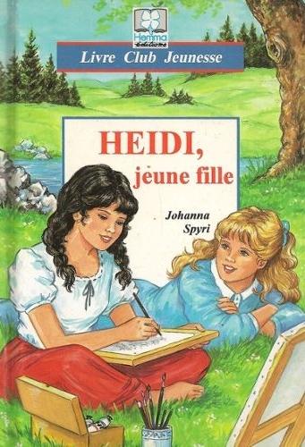 Couverture Heidi jeune fille / Heidi, jeune fille