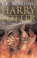 Couverture Harry Potter, tome 5 : Harry Potter et l'ordre du phénix Editions Bloomsbury 2004