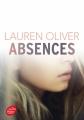 Couverture Absences Editions Le Livre de Poche (Jeunesse) 2017
