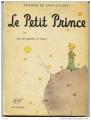 Couverture Le petit prince Editions Gallimard  1999