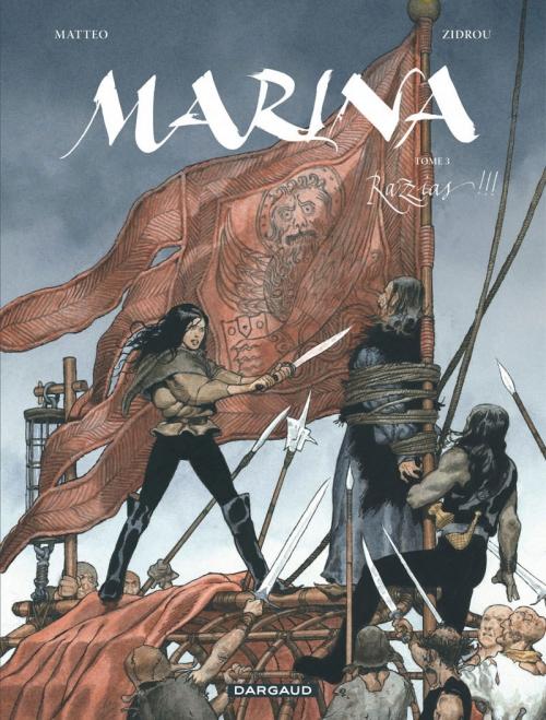 Couverture Marina, tome 3 : Razzias !
