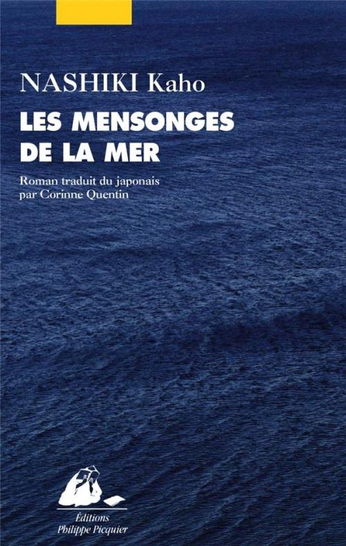 Couverture Les mensonges de la mer