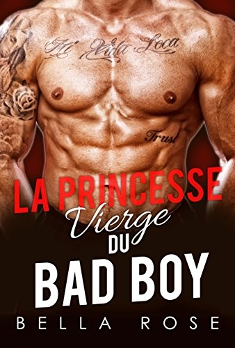 Couverture La princesse vierge du bad boy