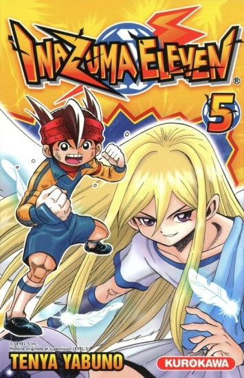 Couverture Inazuma Eleven, tome 05