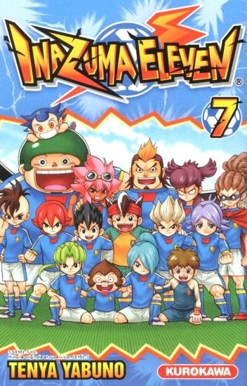 Couverture Inazuma Eleven, tome 07