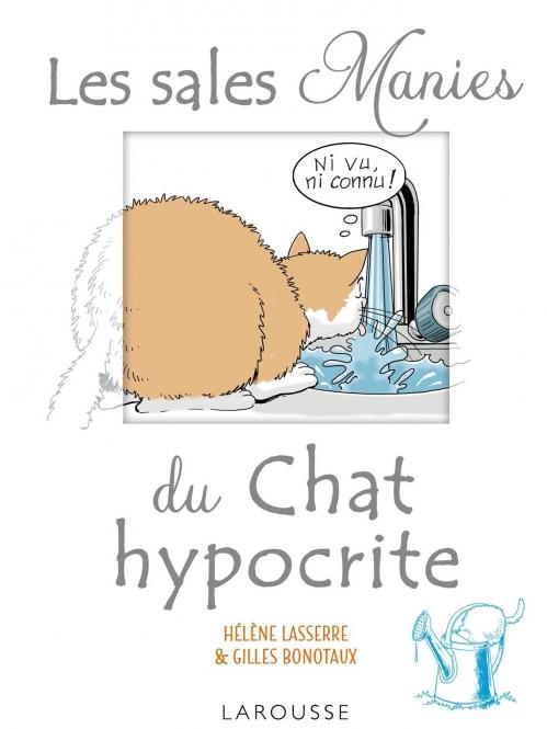 Couverture Les sales manies du chat hypocrite