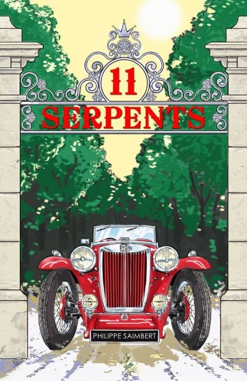 Couverture 11 serpents
