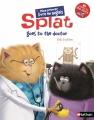 Couverture Splat va chez le docteur Editions Nathan 2017