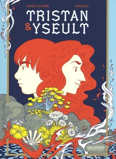 Couverture Tristan & Yseult (BD)