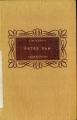 Couverture Peter Pan (roman) Editions Flammarion 1951