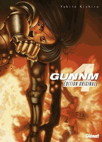Couverture Gunnm, tome 4