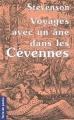 Couverture Voyage avec un âne dans les Cévennes Editions de Borée 2001