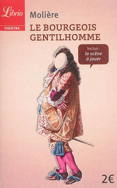 Couverture Le bourgeois gentilhomme
