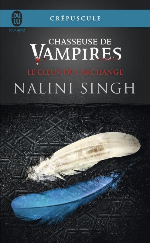 Couverture Chasseuse de vampires, tome 09 : Le coeur de l'archange