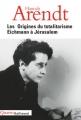 Couverture Eichmann à Jérusalem Editions Gallimard  (Quarto) 2002