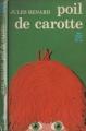 Couverture Poil de carotte Editions Garnier Flammarion 1965