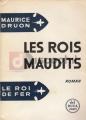 Couverture Les rois maudits, intégrale Editions Del Duca 1958
