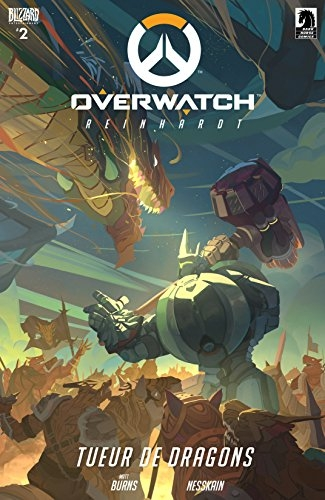 Couverture Overwatch, book 2: Reinhardt