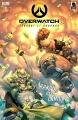 Couverture Overwatch #3, Junkrat et Roadhog: Rangés des Camions Editions Dark Horse 2016
