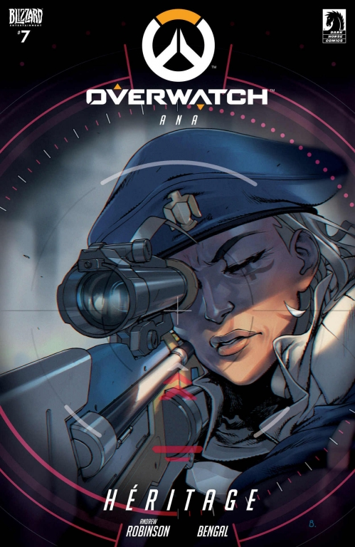 Couverture Overwatch #7, Ana: Héritage